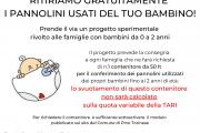 RITIRIAMO GRATUITAMENTE I PANNOLINI USATI DEL TUO BAMBINO!